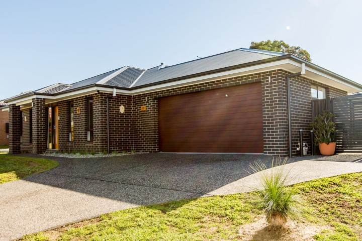 New Home Build Albury Front