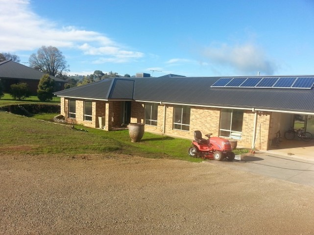 New Home Build Bonegilla Front