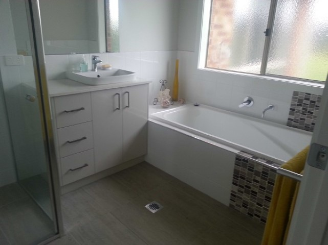 New Home Build Bonegilla Bathroom