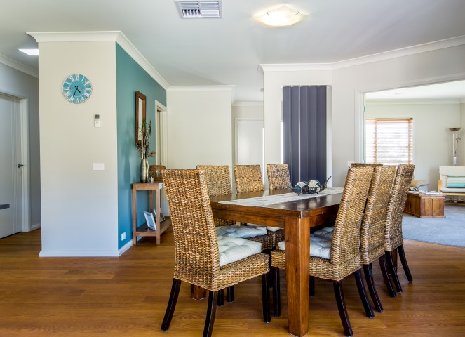 New Home Build Wodonga Dining