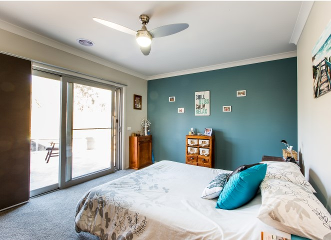New Home Build Wodonga Bedroom