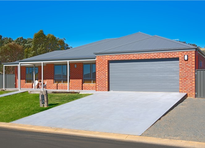 New Home Build Wodonga Front