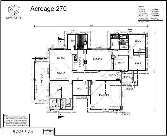 Acreage 270 plan