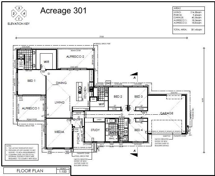 Acreage 301 Plan
