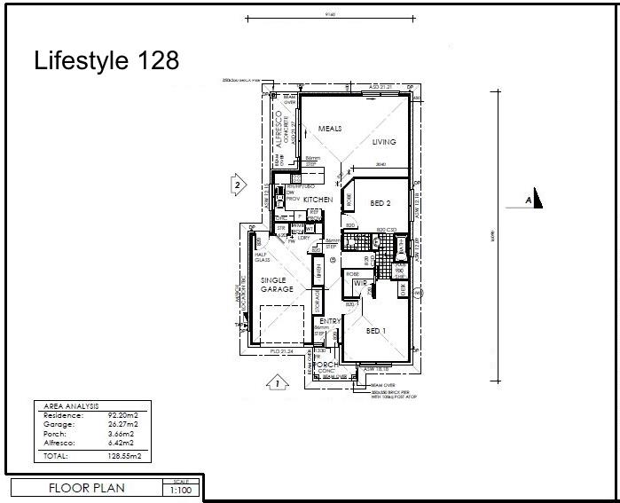 Lifestyle 128 Plan