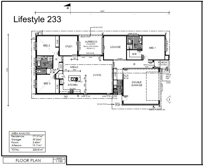 Lifestyle 233 Plan