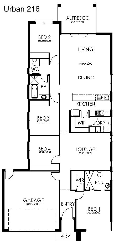 Urban 216 Plan