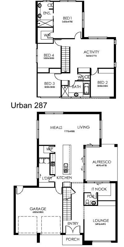 Urban 287 Plan