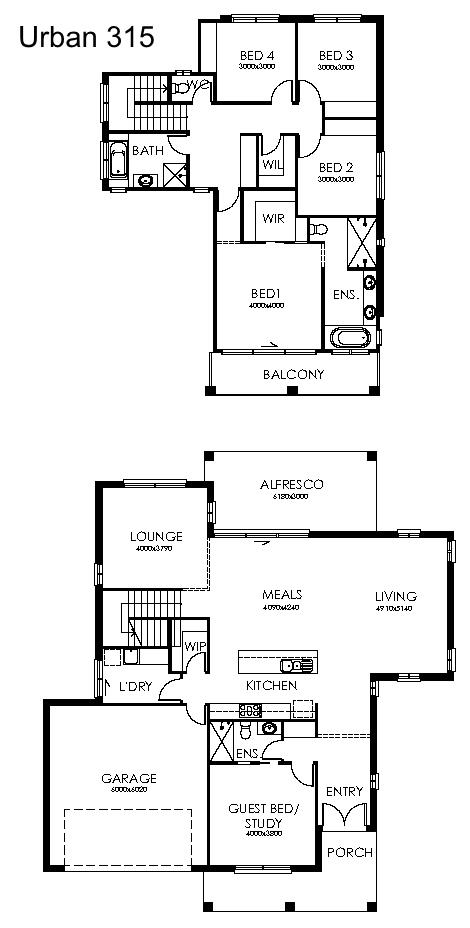 Urban 315 Plan