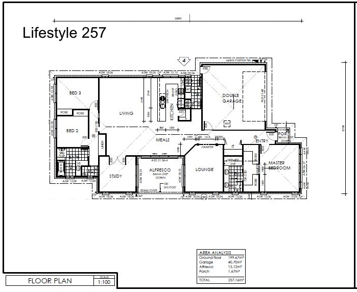 Lifestyle 257 Plan